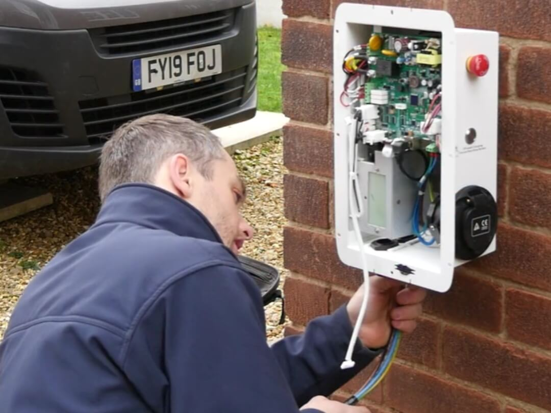 C&G 2919-01 Electric Vehicle Charge Point Installation Course with XS Training